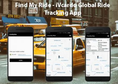 Find My Ride – iVcardo Global Ride Tracking App